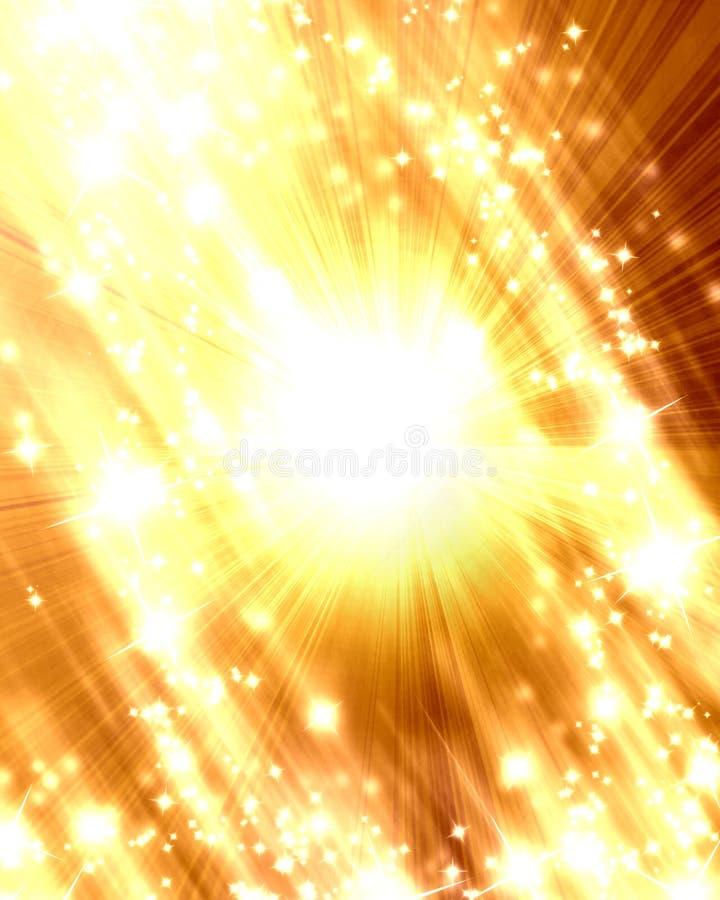 Sol suave ilustración del vector