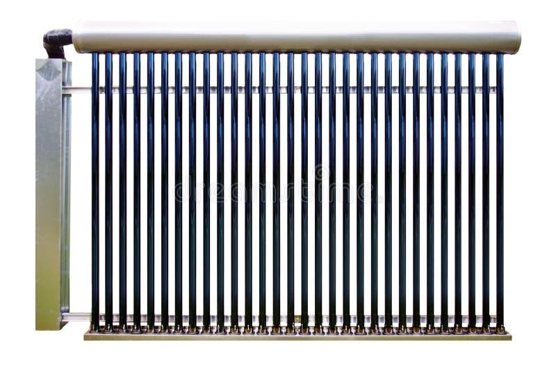 Sol- system för vattenvärmeapparat royaltyfri bild