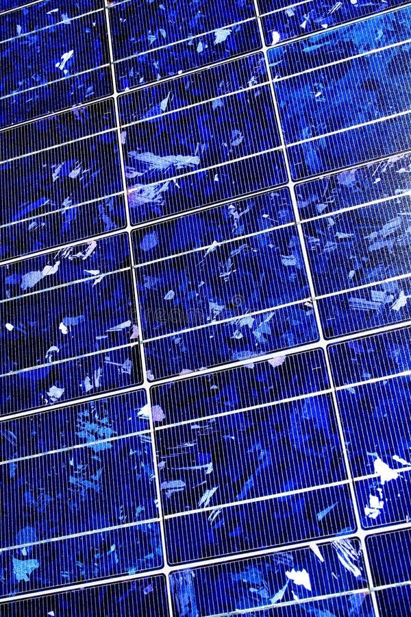 sol- teknologi för cellhightech royaltyfria bilder