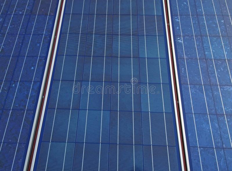 sol- textur för panel arkivbild