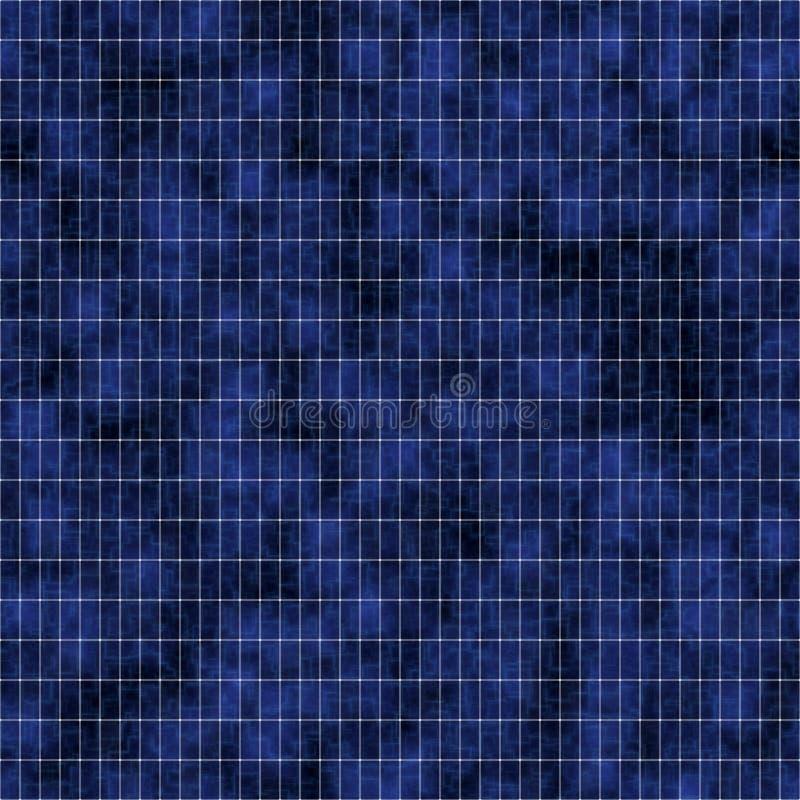 sol- textur för tät panel upp royaltyfri illustrationer