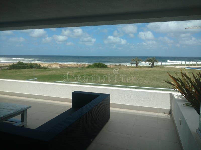 Sol y mar de la playa fotografía de archivo libre de regalías
