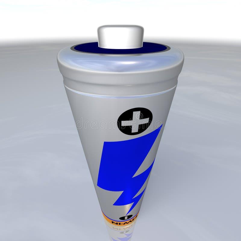 Sola batería recargable stock de ilustración