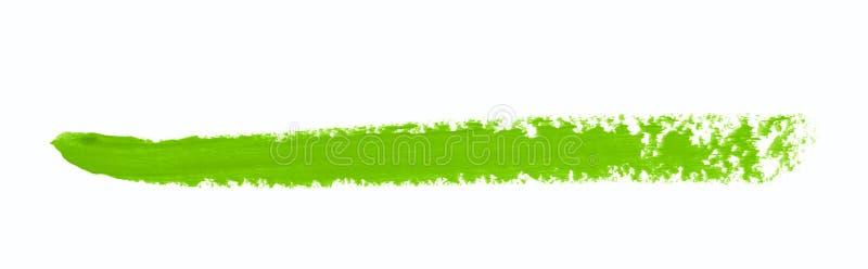 Sola línea movimiento del marcador aislado fotografía de archivo