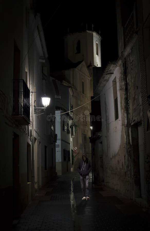 Solamente en la ciudad fotografía de archivo