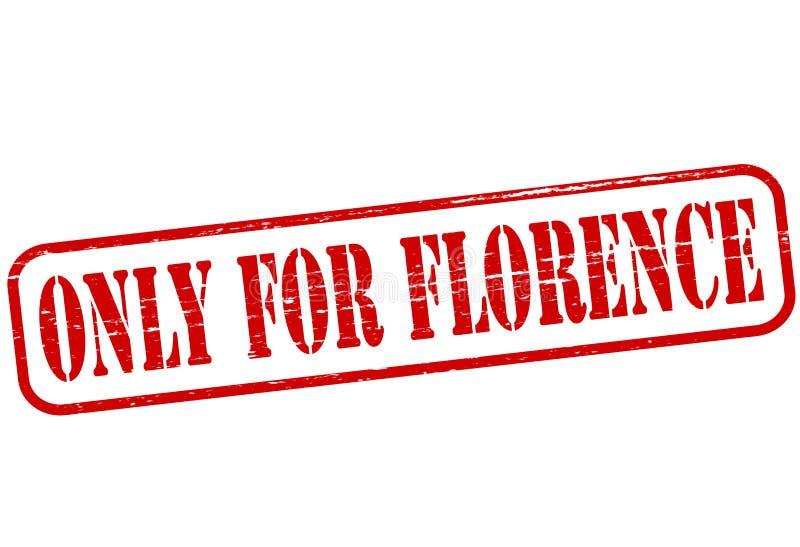 Solamente para Florencia stock de ilustración