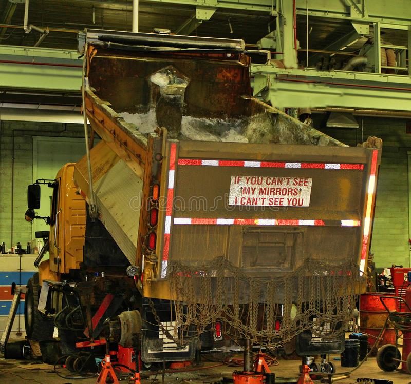Solankowa ciężarówka 2635 fotografia royalty free