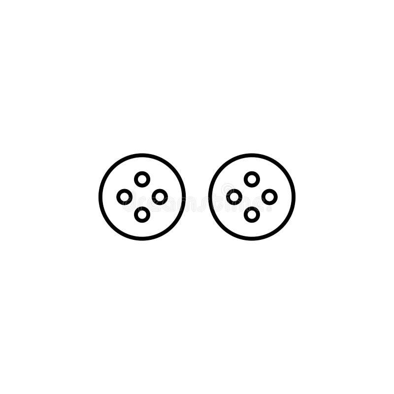 Solankowego potrząsacza ikona Może używać dla sieci, logo, mobilny app, UI, UX royalty ilustracja
