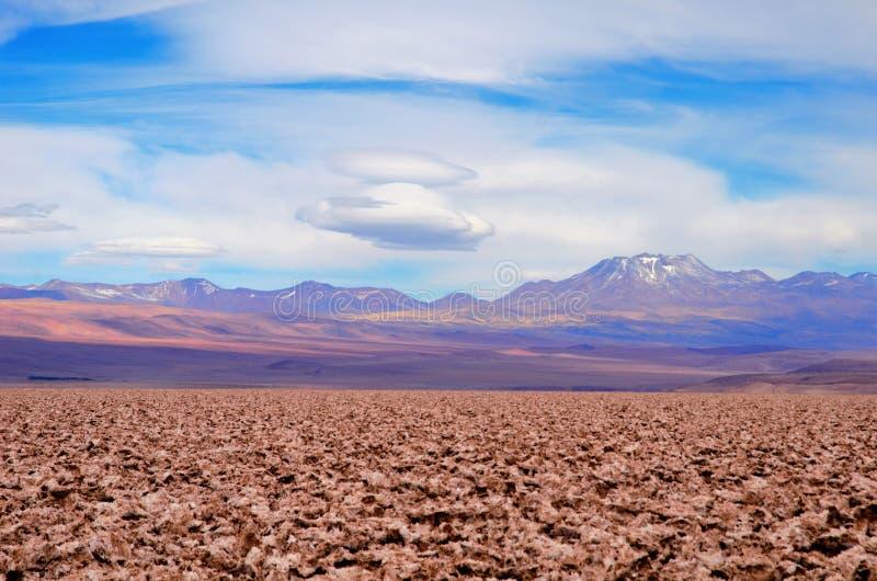 Solankowi mieszkania w Atacama pustyni obrazy royalty free