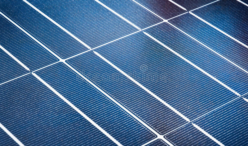 Solar Array stock image