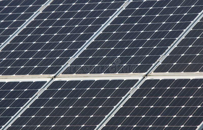Solar Array in Beaverton, Oregon royalty free stock photos