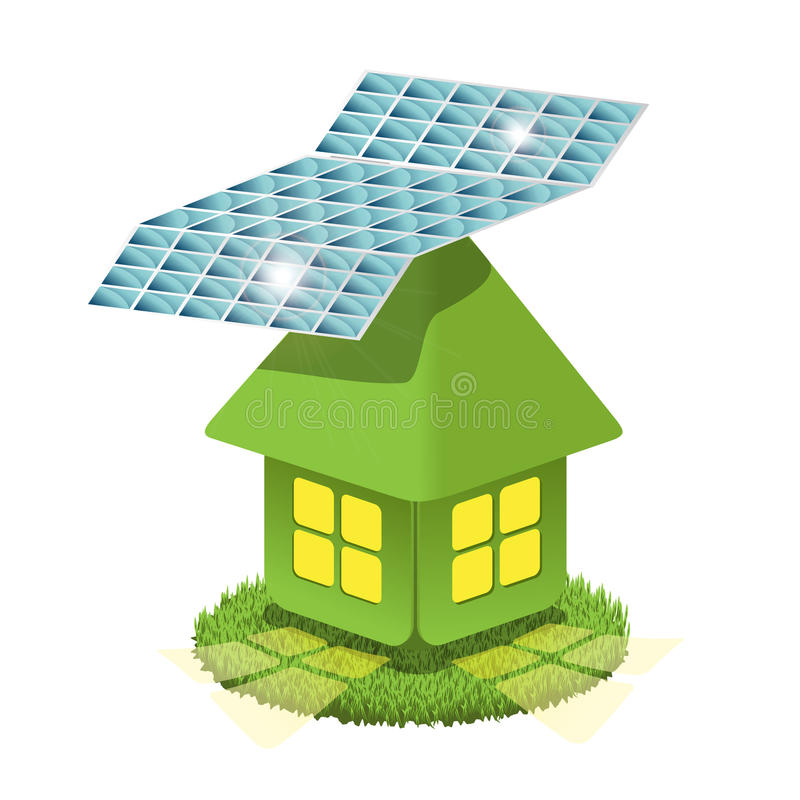 Solar Battery Royalty Free Stock Image
