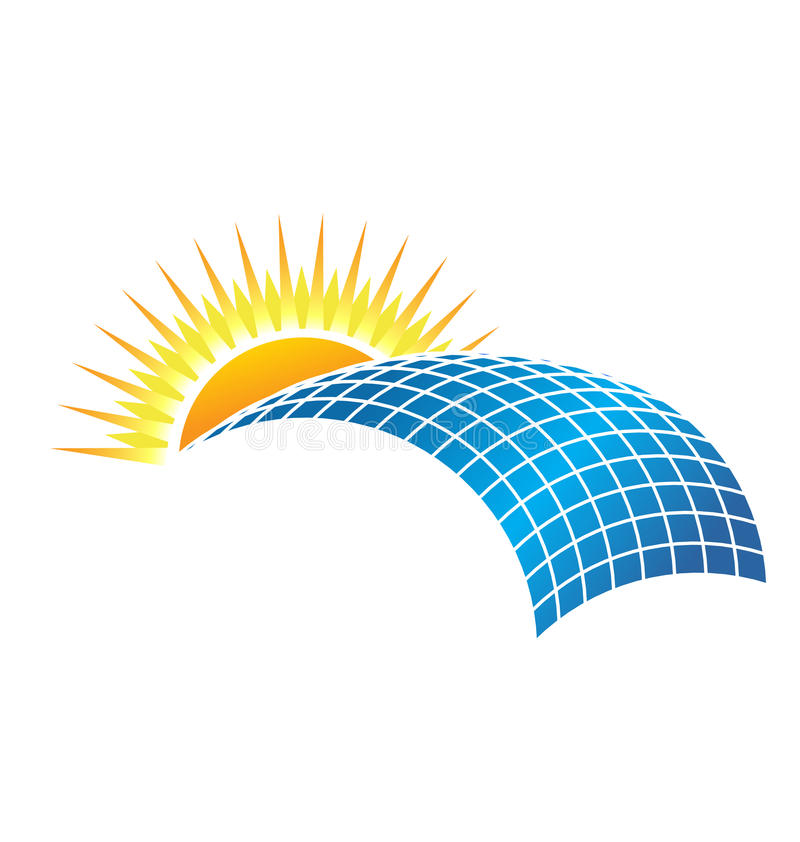 Solar Business Logo Stock Images