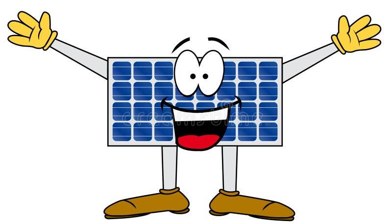 Download Solar cartoon panel stock vector. Image of environment - 18991542