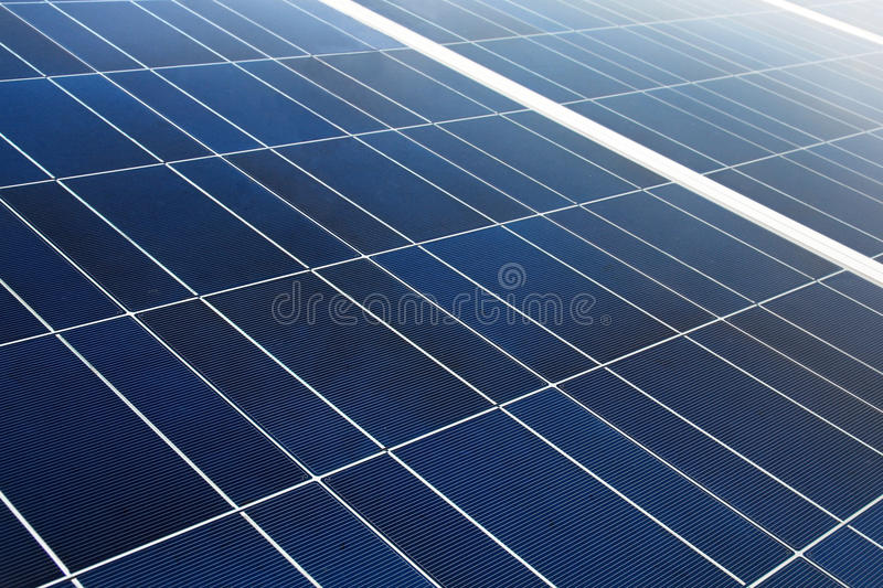 Solar Cell. Pattern can be use as background stock image
