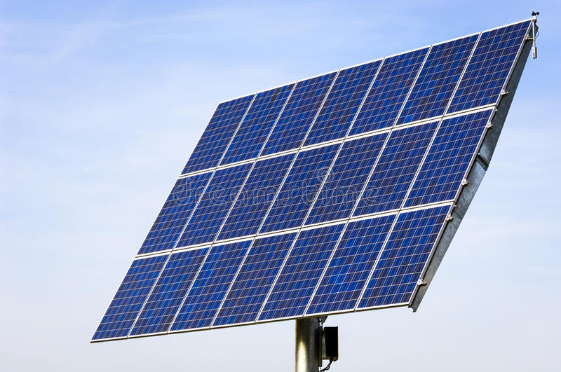 Download Solar cell stock image. Image of panel, electricity, horizontal - 28460111