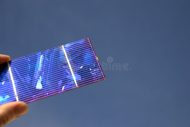 Solar Cell royalty free stock photos