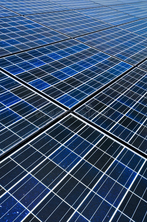 Solar cell battery. Close-up solar cell battery harness energy of the sun stock image
