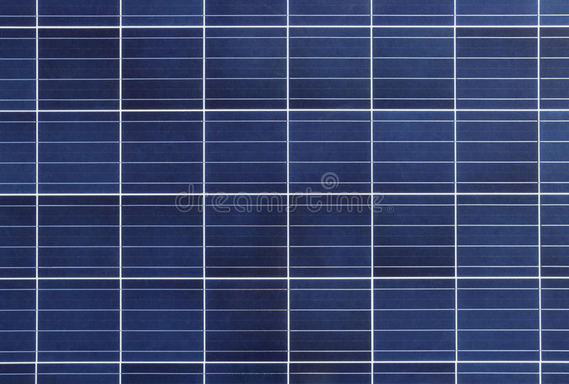 Solar Cell Panel Background And Texture Stock Image