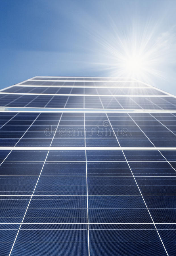 Solar cell power energy royalty free stock images