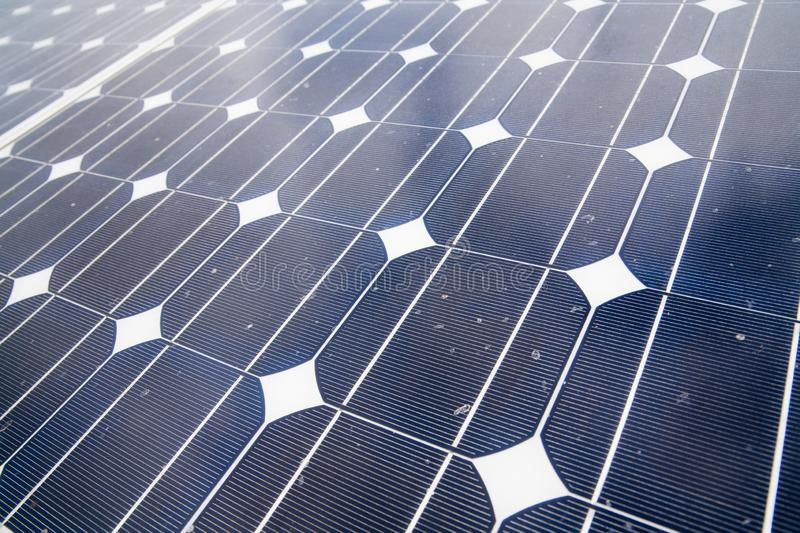 Solar cells. In the center of the sun, alternative, blue, building, clean, concept, eco, ecological, ecology, electric, electrical, electricity, energy stock photography