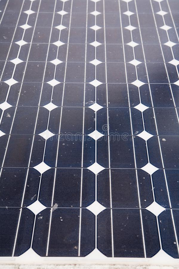 Solar cells. In the center of the sun, alternative, blue, building, clean, concept, eco, ecological, ecology, electric, electrical, electricity, energy royalty free stock image