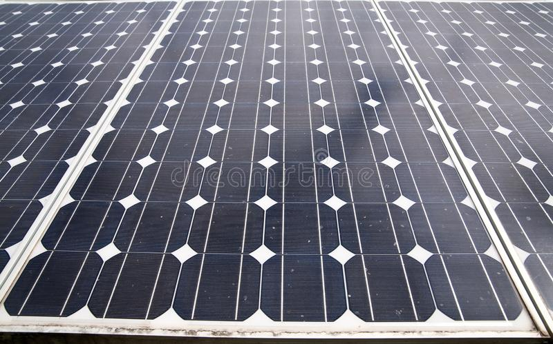 Solar cells. In the center of the sun, alternative, blue, building, clean, concept, eco, ecological, ecology, electric, electrical, electricity, energy royalty free stock photo