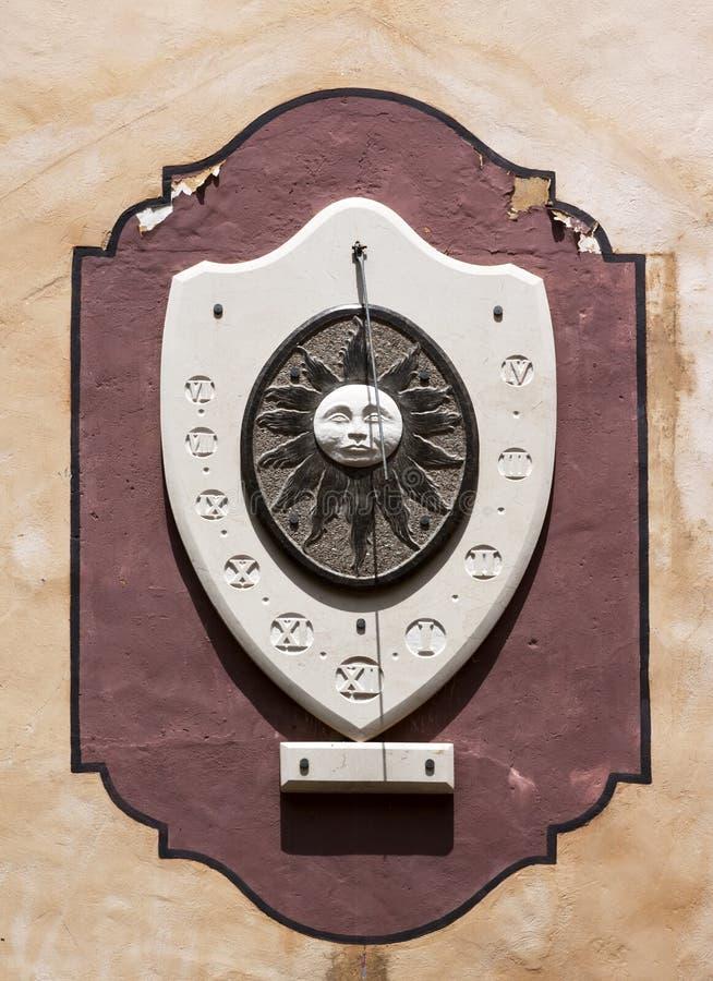 Solar clock - RAW format stock images
