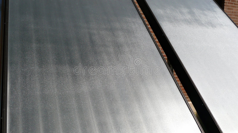 Solar Collector royalty free stock images