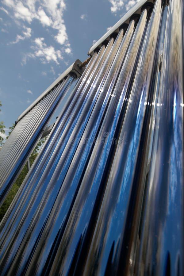 Solar collector four stock photos