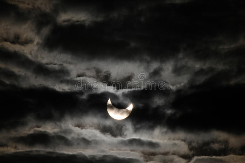 Download Solar eclipse editorial stock image. Image of patterns - 17663384