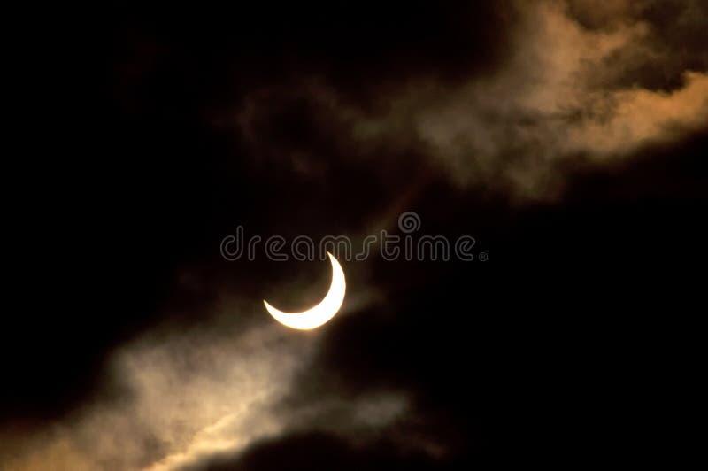 Download Solar eclipse stock image. Image of phenomenon, clouds - 17681923