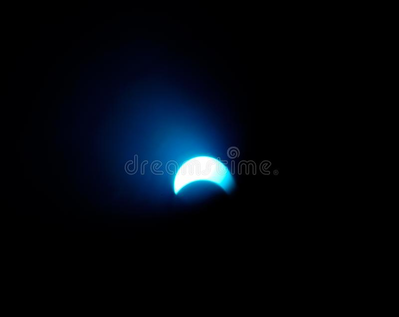 Solar eclipse 2 stock images