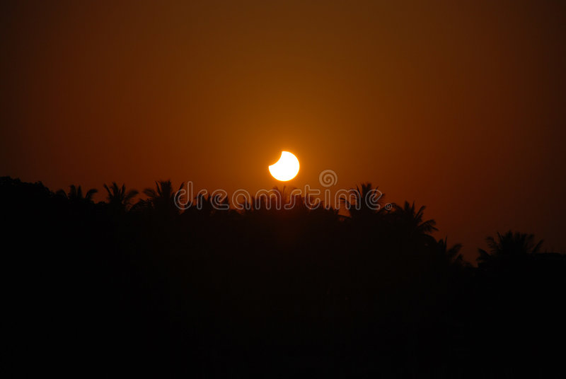 Solar Eclipse royalty free stock photos
