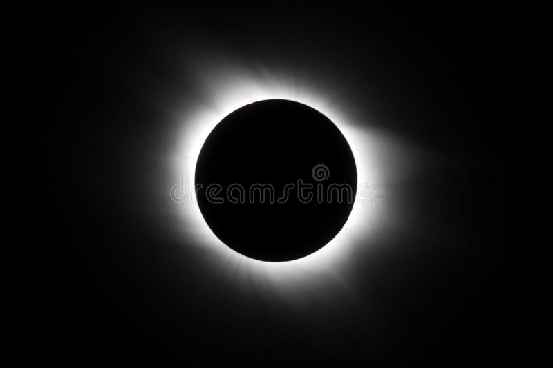 Solar eclipse royalty free stock photography