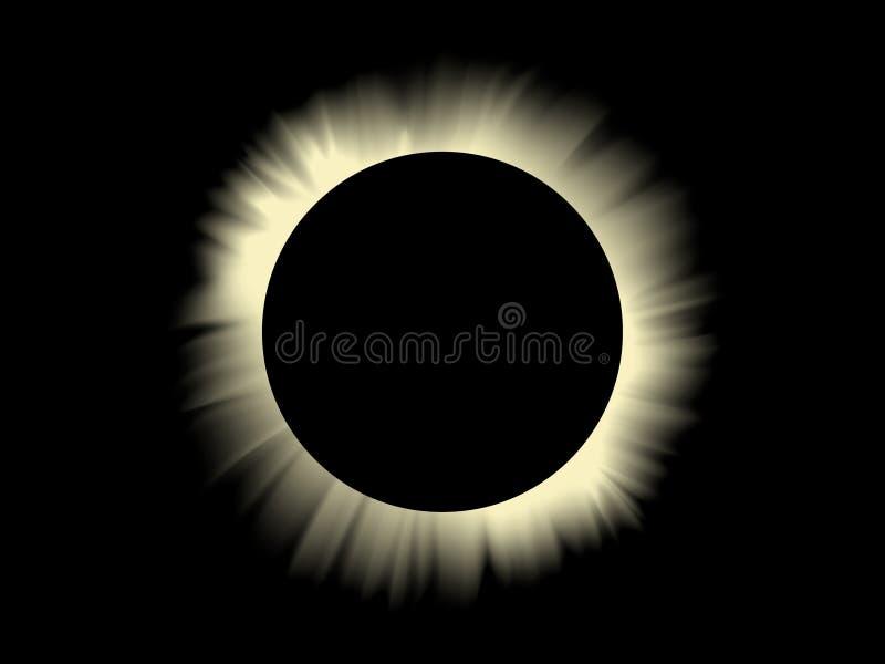 Download Solar eclipse stock vector. Image of light, illustration - 6263233