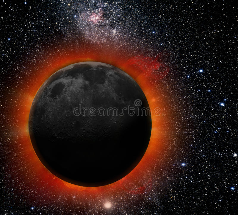 Solar Eclipse. As seen from the Earth, a solar eclipse occurs when the Moon passes between the Sun and Earth, and the Moon fully or partially blocks the Sun. In