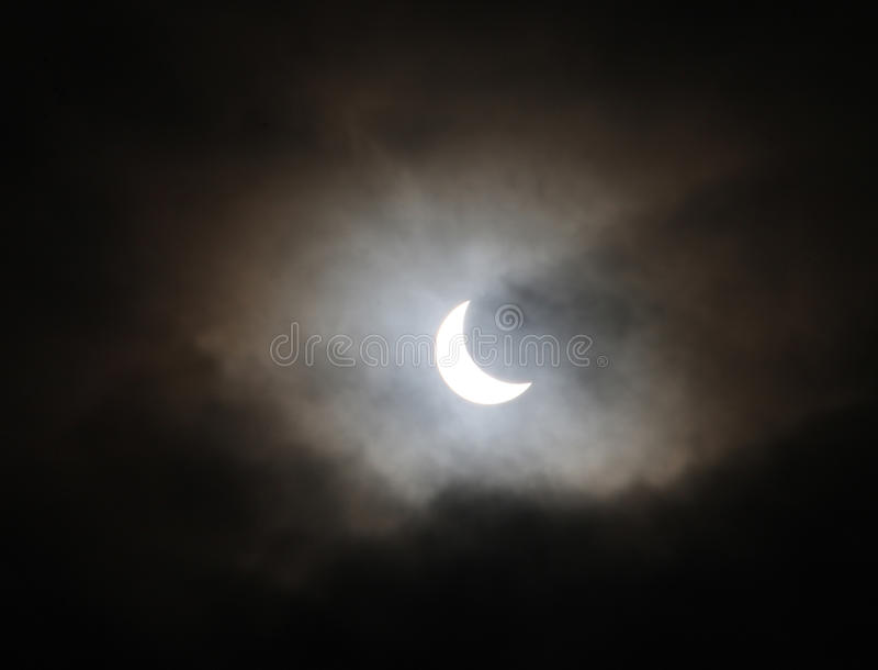 Download Solar Eclipse stock photo. Image of moon, astronomy, clouds - 67823042