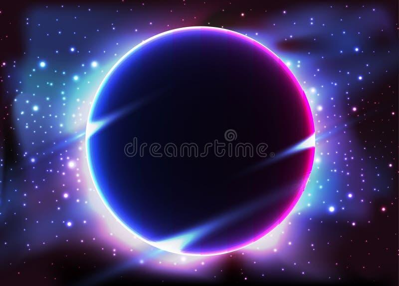 Solar eclipse Night sky constellations.star stock photos