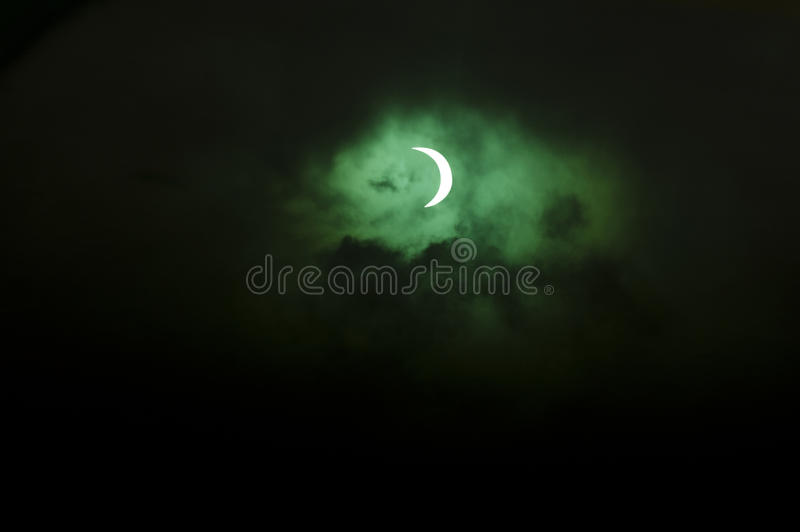 Download Solar Eclipse Over New Zealand Editorial Photography - Image: 27669777