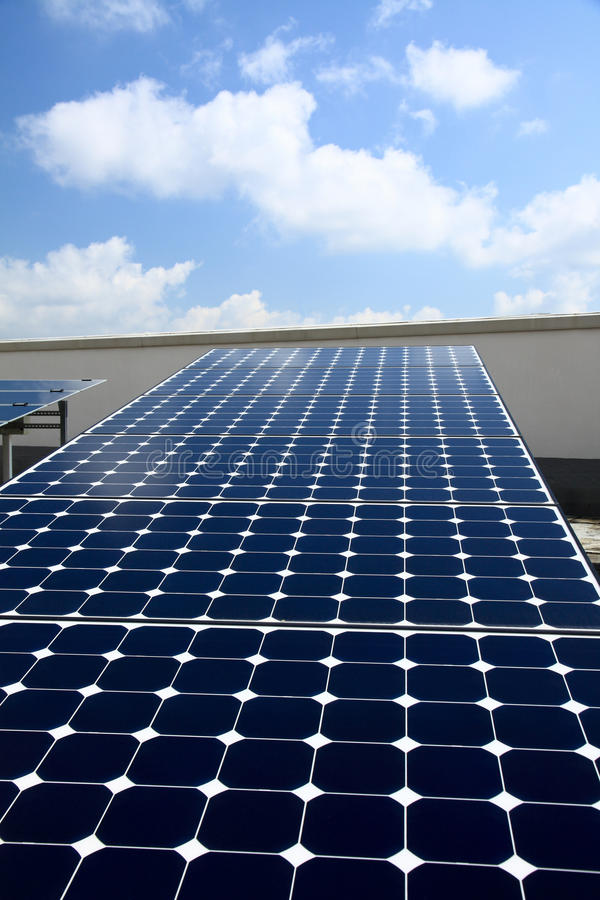 Solar Panel For Power Stock Photography