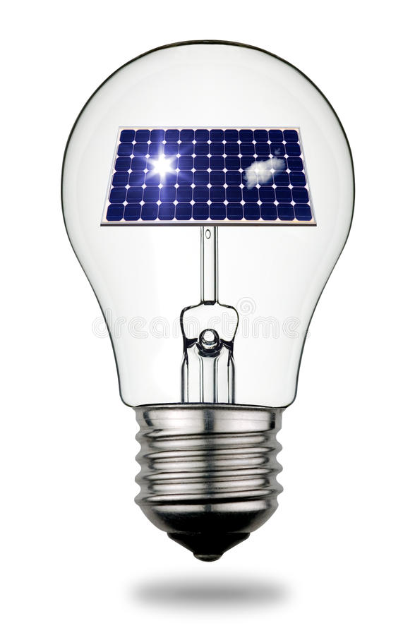 Free Solar Energy Concept Royalty Free Stock Photography - 17343277
