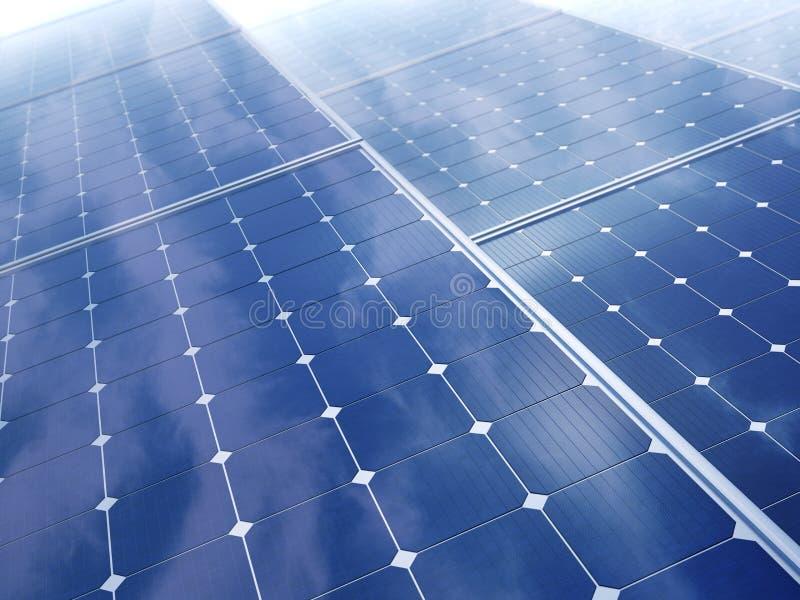 Solar energy concept vector illustration
