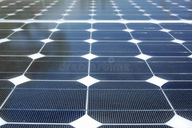 Solar Energy Detail royalty free stock image