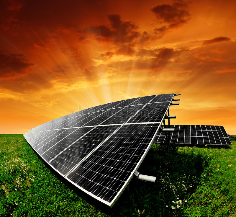 Download Solar energy panels stock photo. Image of costs, photovoltaic - 24092598
