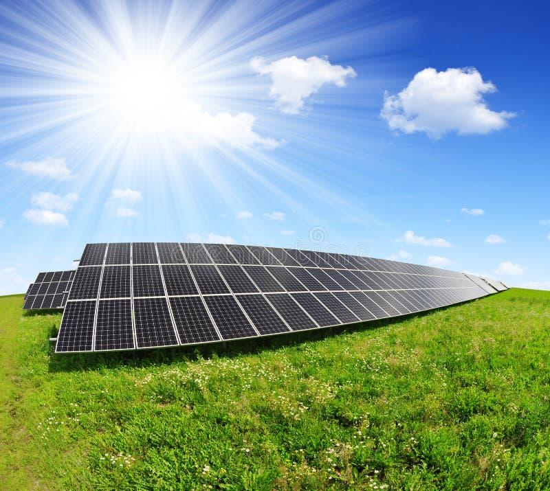 Download Solar energy panels stock image. Image of background - 39268047