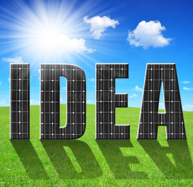 Download Solar energy panels stock image. Image of costs, climate - 39268163