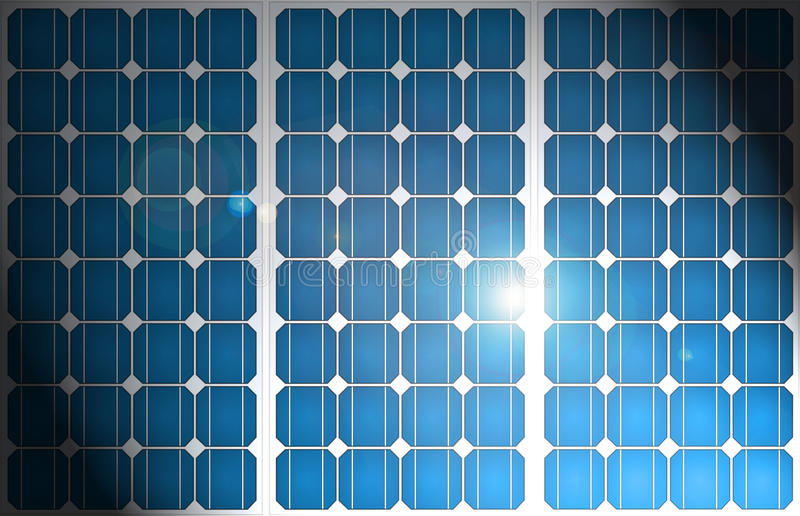 Download Solar energy pattern. stock illustration. Image of exterior - 22106048