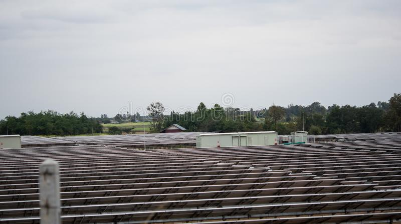 Solar energy, plates. Heat and nature. Solar energy,ninvention plates. Heat and nature stock photography