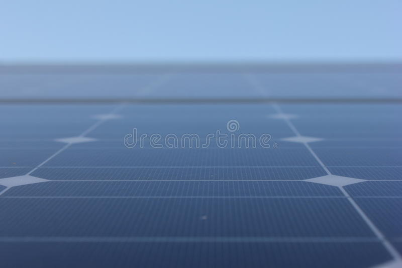 Solar energy, solar panels, renewables, PV modules stock photography